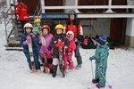 2. lekce víkendové lyžařské školy 2015