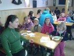 3. lekce víkendové lyžařské školy 2015