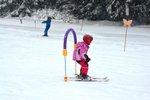 5. lekce víkendové lyžařské školy 2015
