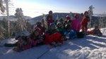 5. lekce víkendové lyžařské školy 2015 - Plešivec