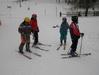 Druhá lekce víkendové lyžařské školy 2012 v Perninku
