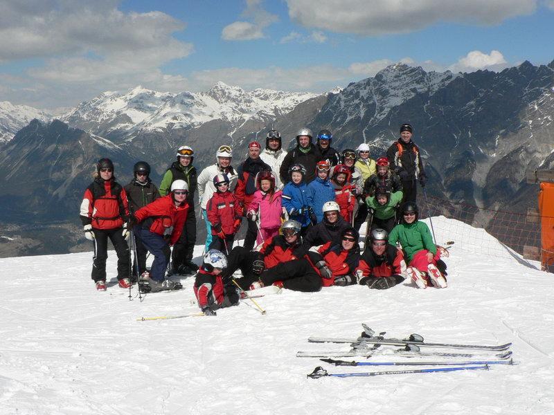 Lyžařská škola v Alpách 2011, Santa Caterina - Itálie