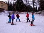 Víkendová lyžařská škola 2014