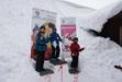 Závody ve slalomu pro děti do 15 let, 18.2.2012 v Perninku